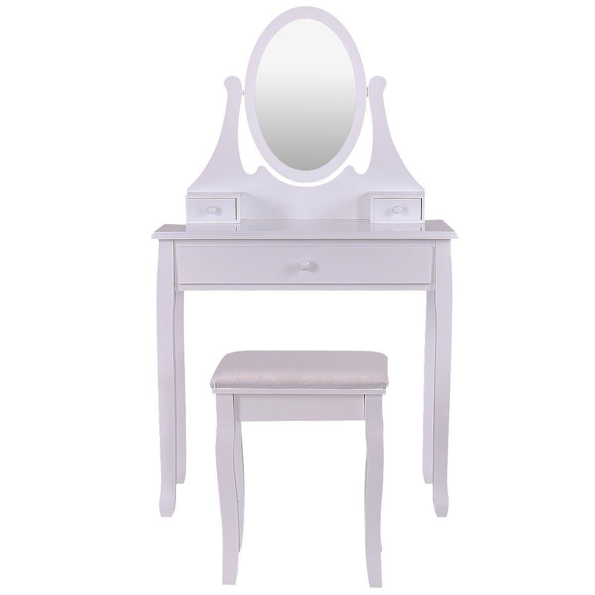 Vanity Wooden Makeup Dressing Table Stool Set Dressing Table With Stool Dressing Table Set Makeup Dressing Table