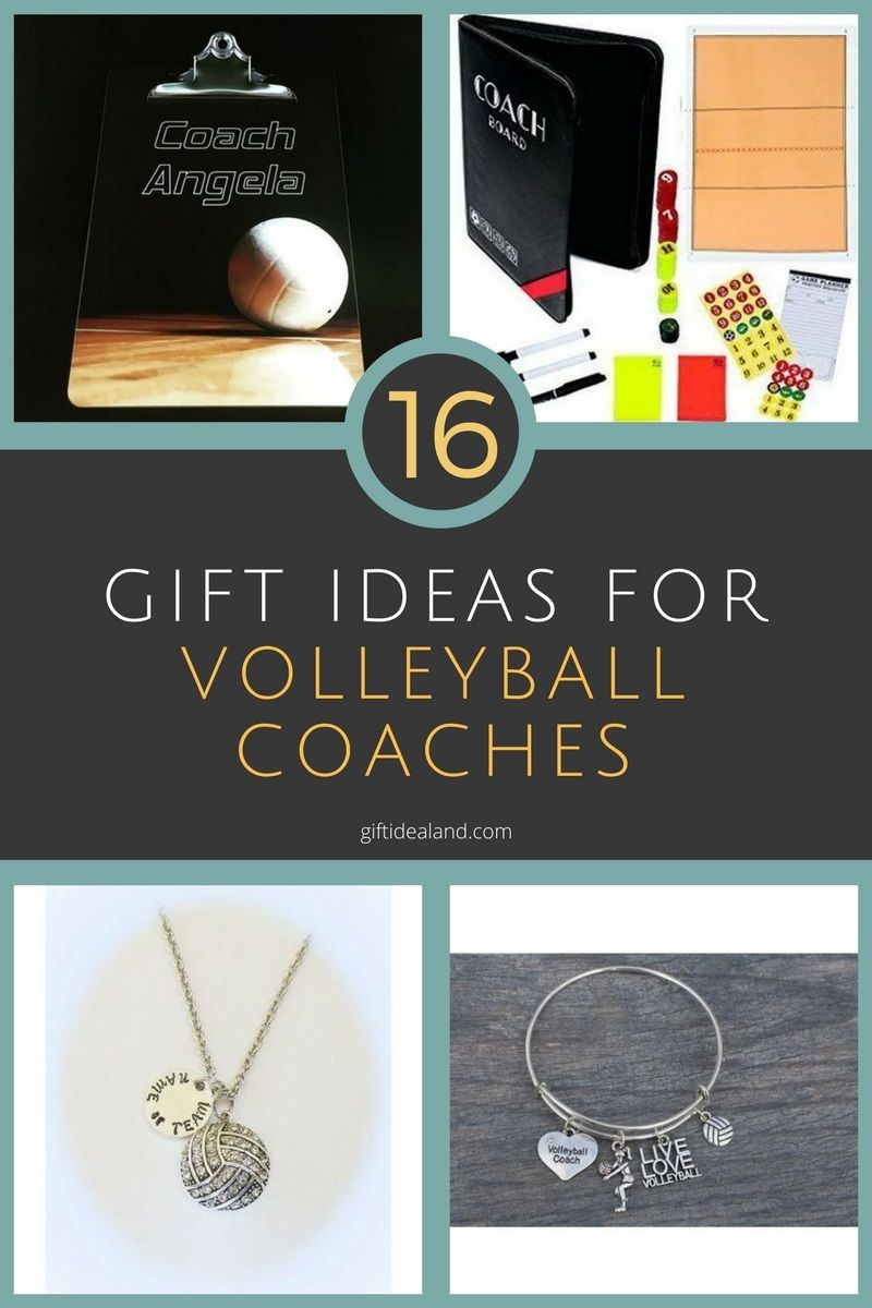 16 Unique Volleyball Coach Gift Ideas They Will Love Volleyball Coach Gifts Coaching Volleyball Coach Gifts