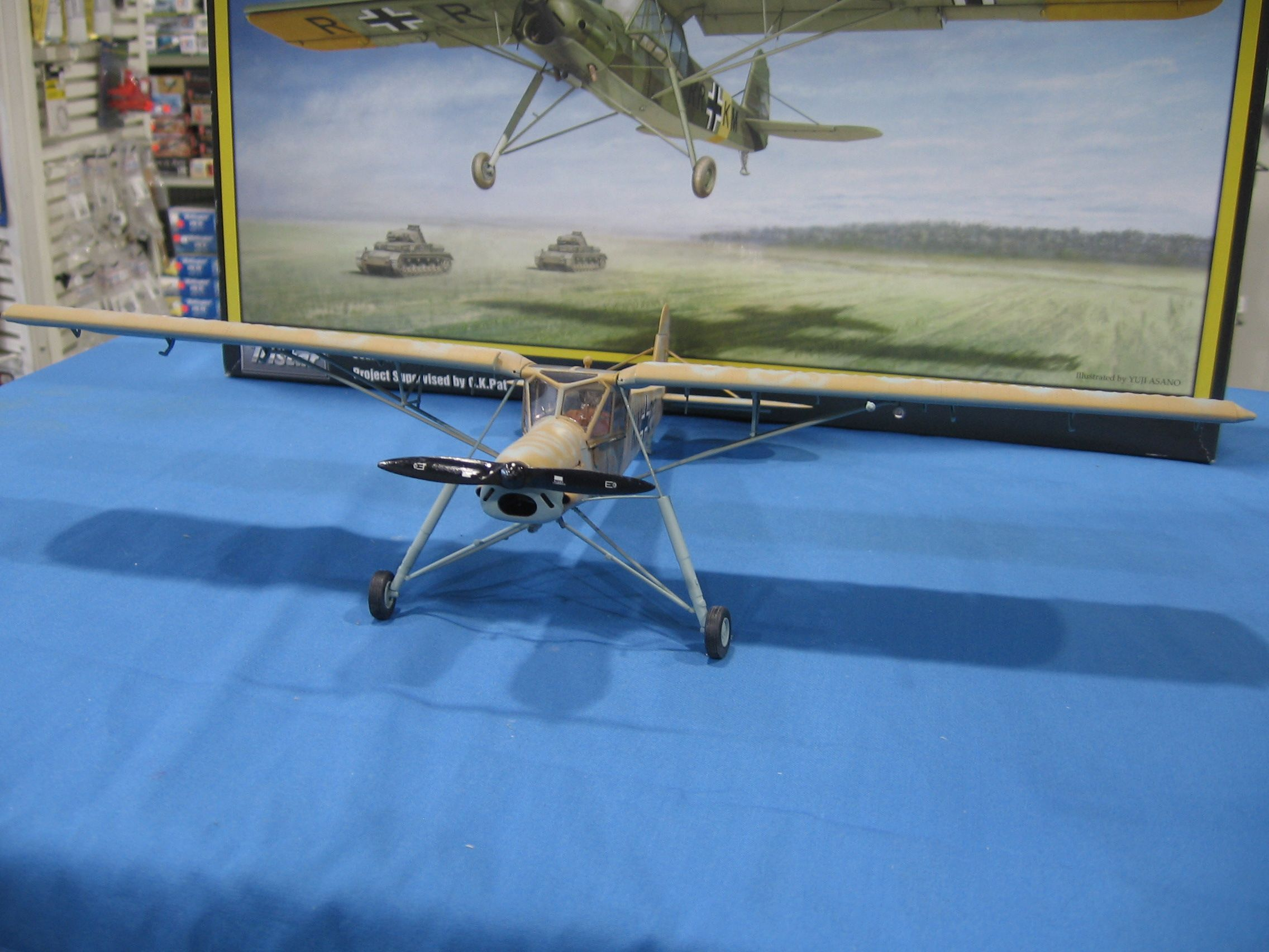 1/35 Tristar Fiesler Storch, a commission build for (the late) Bud Weiser.
