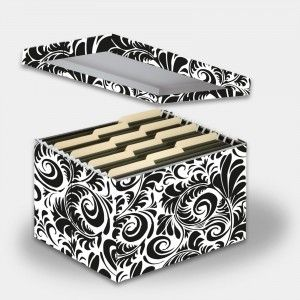Letter Legal File Box Scroll Scroll Pattern Snap N Store Sns01835 Scroll Pattern Craft Storage Small Space Office