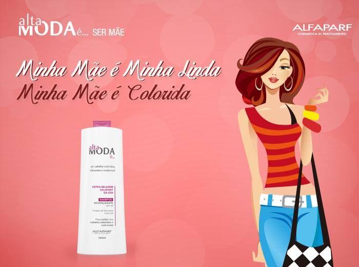 Para mães coloridas: www.bit.ly/1uGWN7J -, Alta moda é, alta moda alfaparf | TAGS INSTITUCIONAIS: linha profissional para cabelos, linha profissional para salão de beleza. loiro platinado alfaparf, loja de produtos de beleza, loja produtos cabelo, lojas de produtos para cabeleireiros