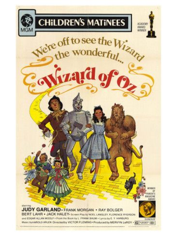 were off to see the wizard