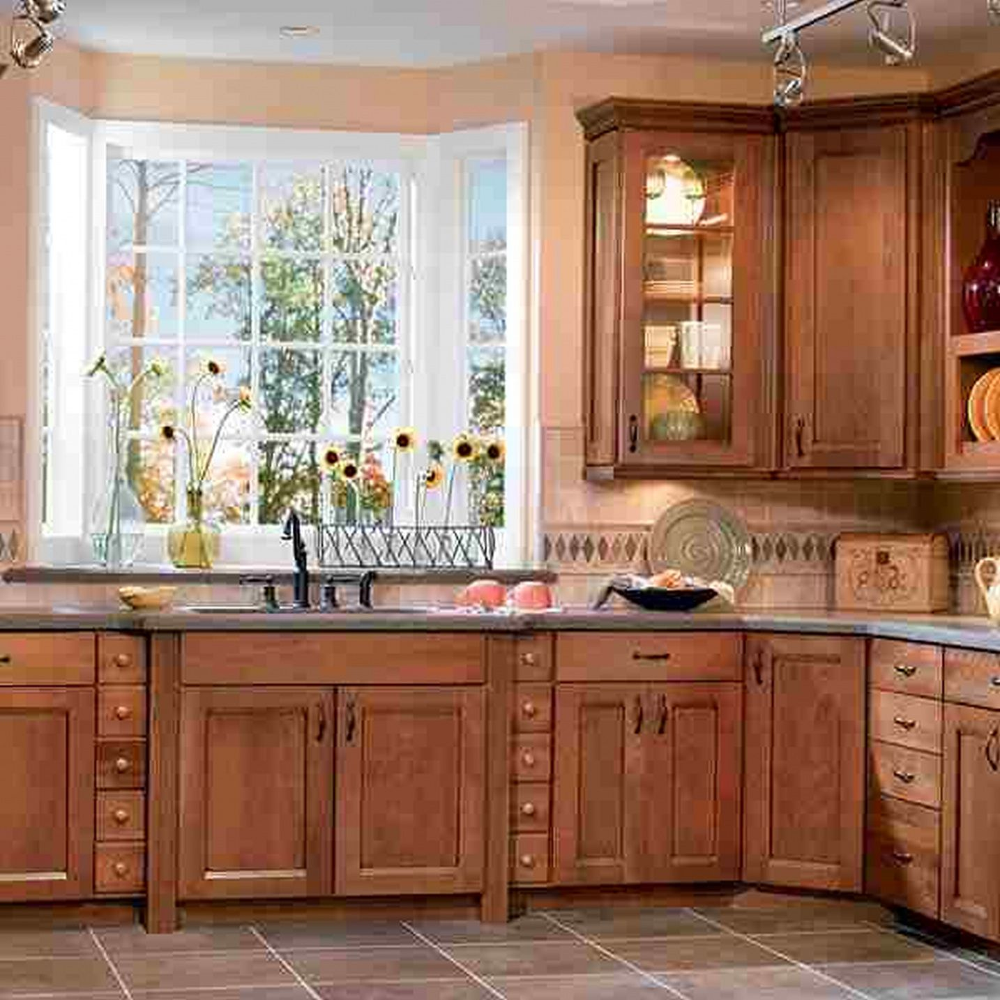 Lowes Kitchen Wood Cabinets Cheap Kitchen Cabinet Remodel