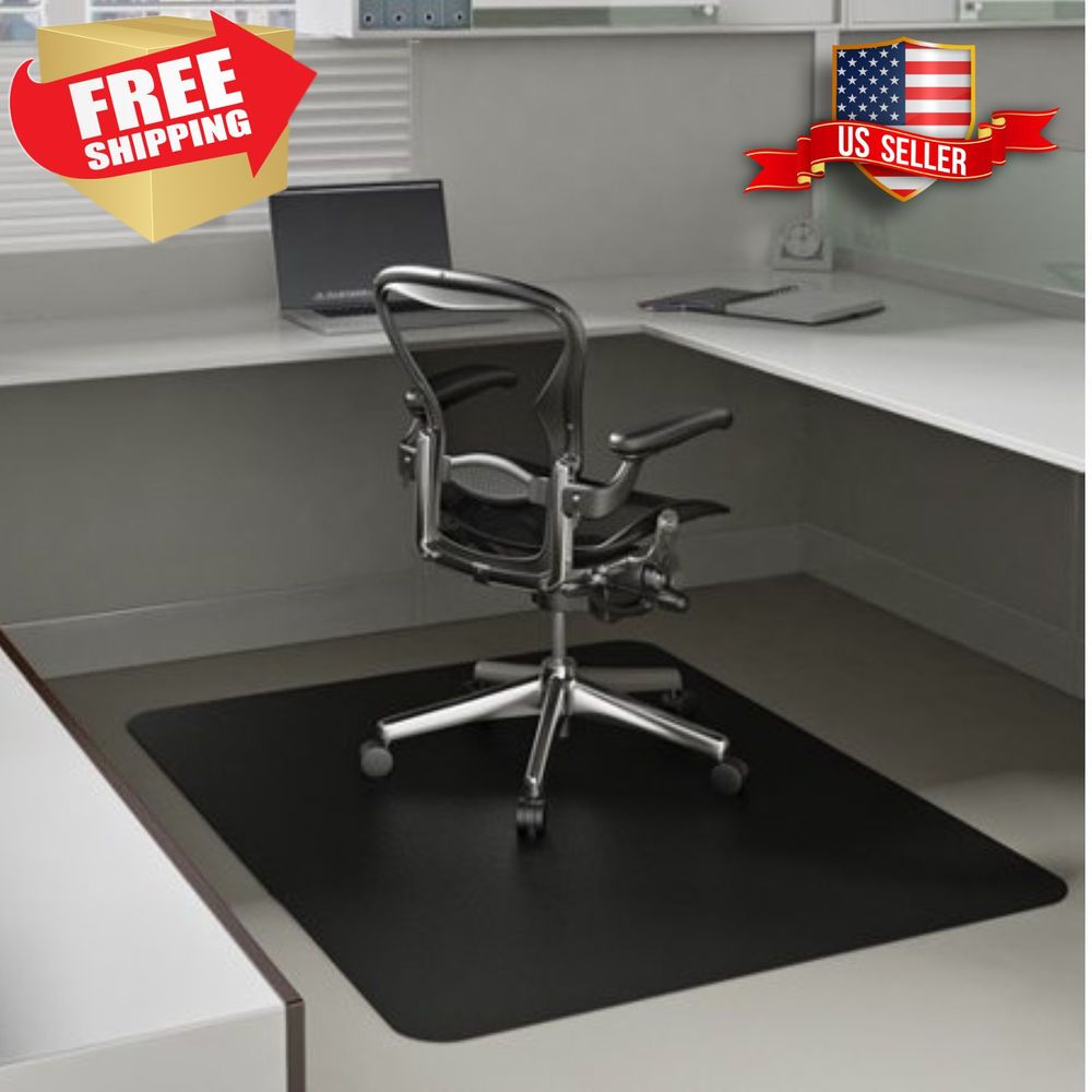 details about desk chair floor mat rug hard computer office carpet rh pinterest com