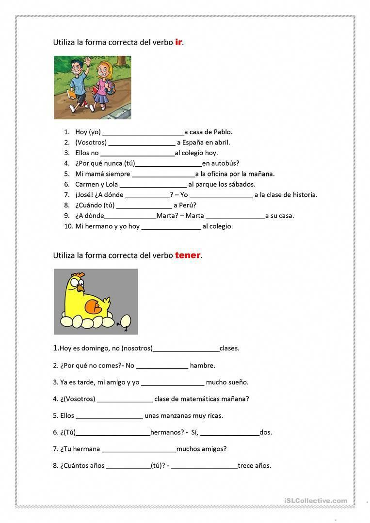 Right Here Are Quite A Few Of My Best Methods Perfecting A New Language Can Be Stimulating An Spanish Worksheets Learning Spanish Vocabulary Teaching Spanish [ 1079 x 763 Pixel ]