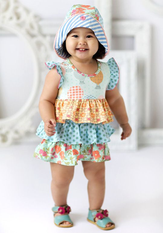 a8d34e16486 Let s Go Ballooning Romper with Hat 12-18mo  58