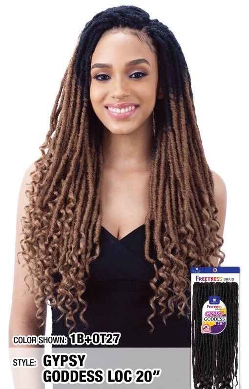 LARGE BOX BRAIDS - Freetress Synthetic Hair Crochet Braid