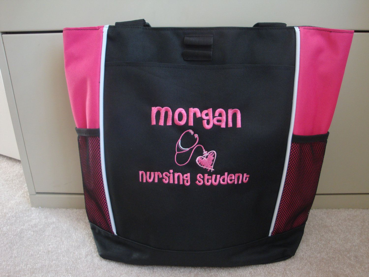 Tote Bag Personalized Nursing Student From Etsy I