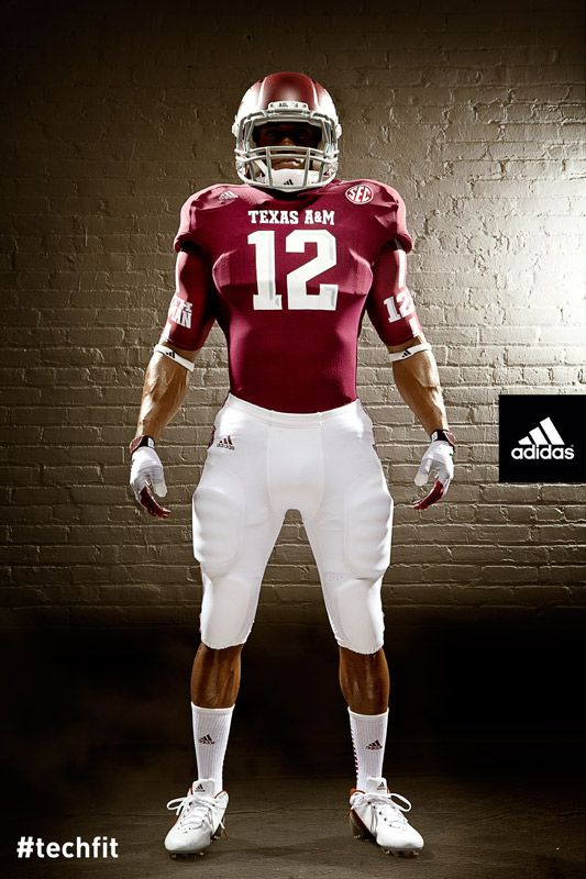 ecbd644f40c New Texas A   M Football Uniforms with SEC Emblem