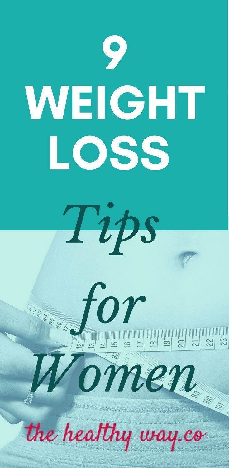 9 Weight Loss Tips for Women
