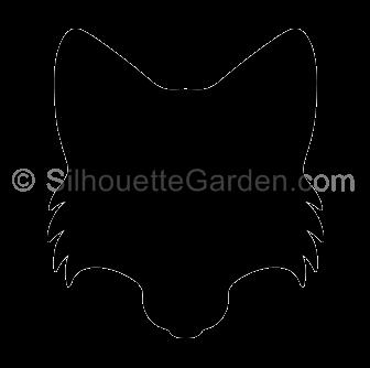 Fox Head Silhouette Silhouette Clip Art Fox Silhouette Fox Head