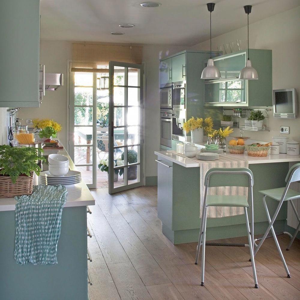 U-förmige küchendesigns funkyhomedecorfarmhousestyle  funky home decor styling suggestion