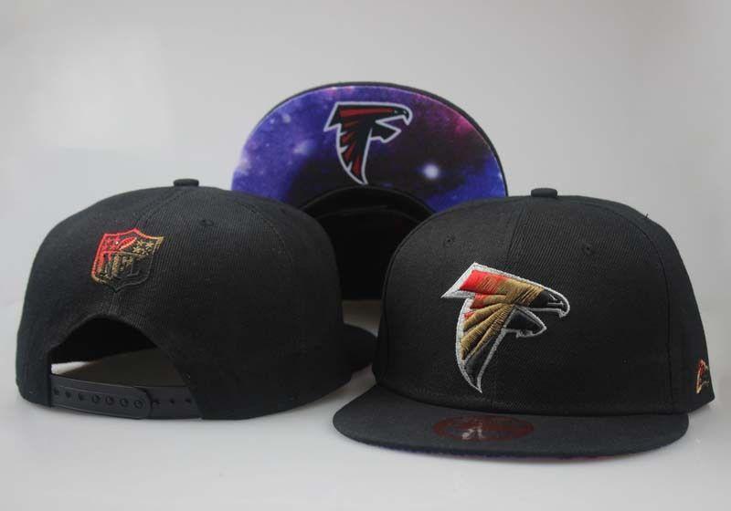 Men's Atlanta Falcons Rasta Team Logo Galaxy Print Under Visor