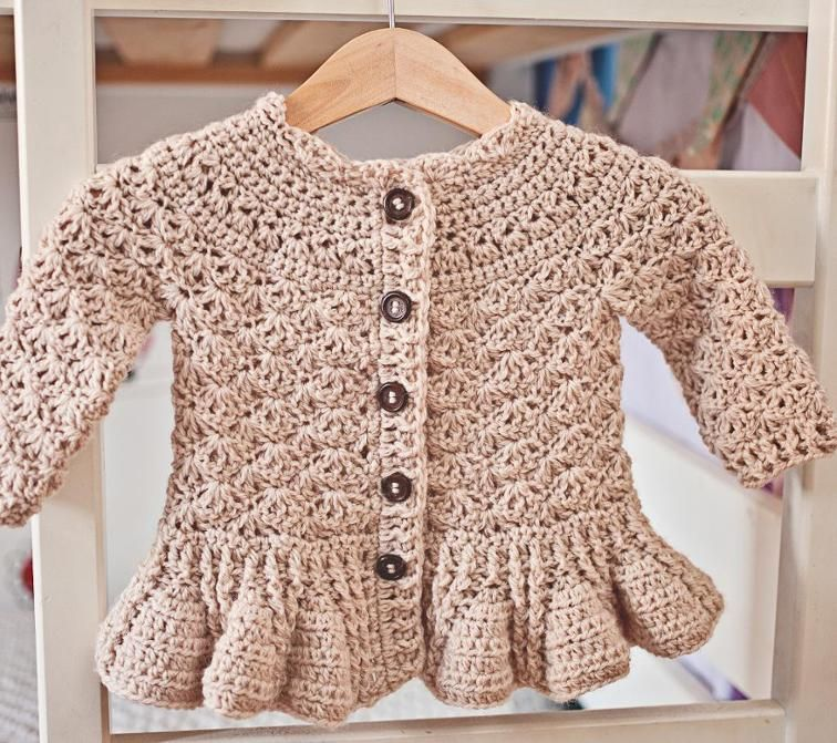 c59257adb Zara s Sleeveless Cardigan pattern by Mon Petit Violon