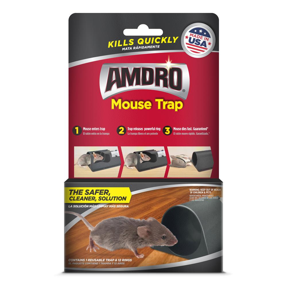 Amdro Mouse Trap 100534972 The Home Depot In 2020 Mouse Traps Rat Traps Mouse Traps That Work