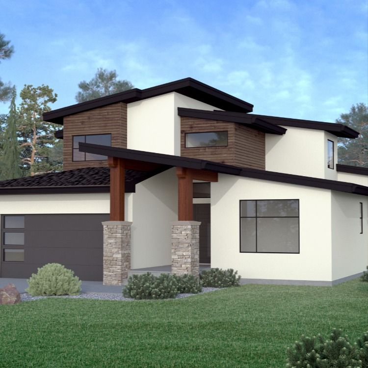 Two Storey 7 4 1014 Jenish House Design House Design House Styles Great Rooms