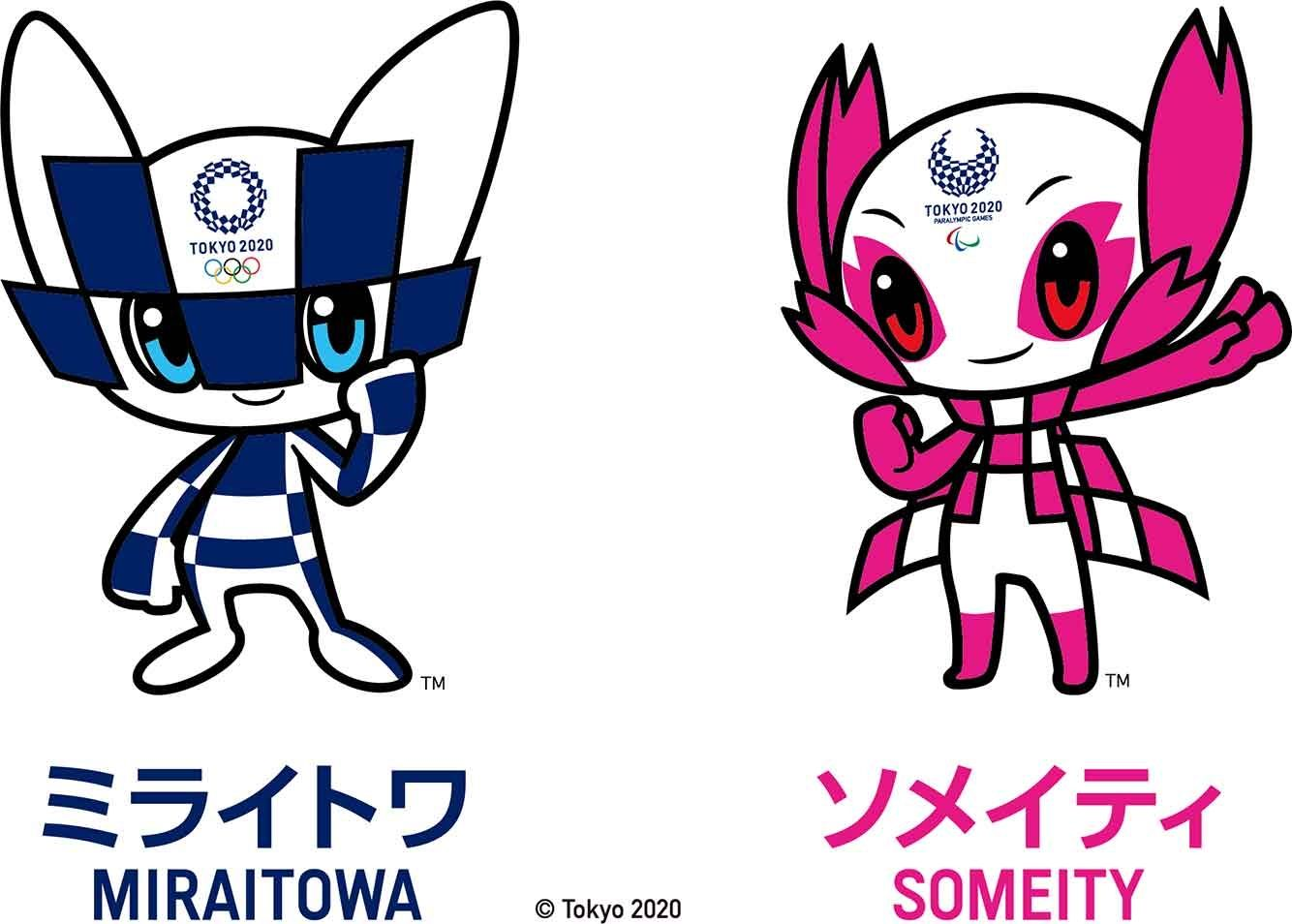 Tokyo 2020 Mascots, MIRAITOWA and SOMEITY have finally ...