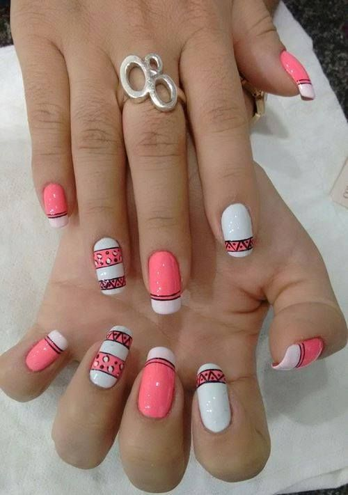 Simple nail art ideas for beginners nailaholic pinterest simple nail art ideas for beginners prinsesfo Gallery