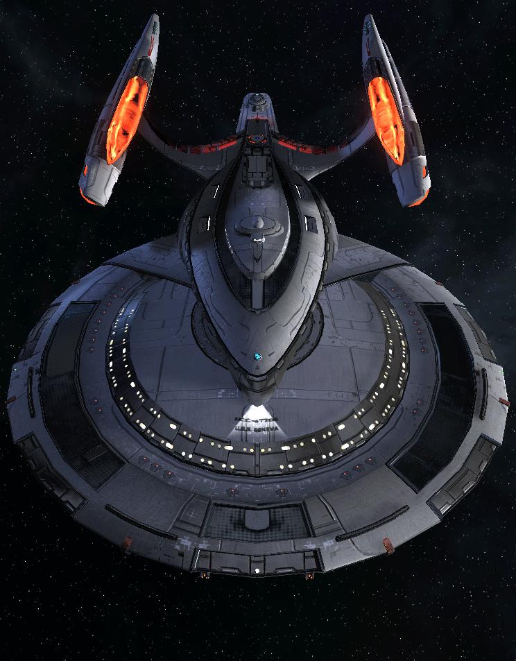 Starfleet Federation Command Ship 4 | Mecha | Star trek