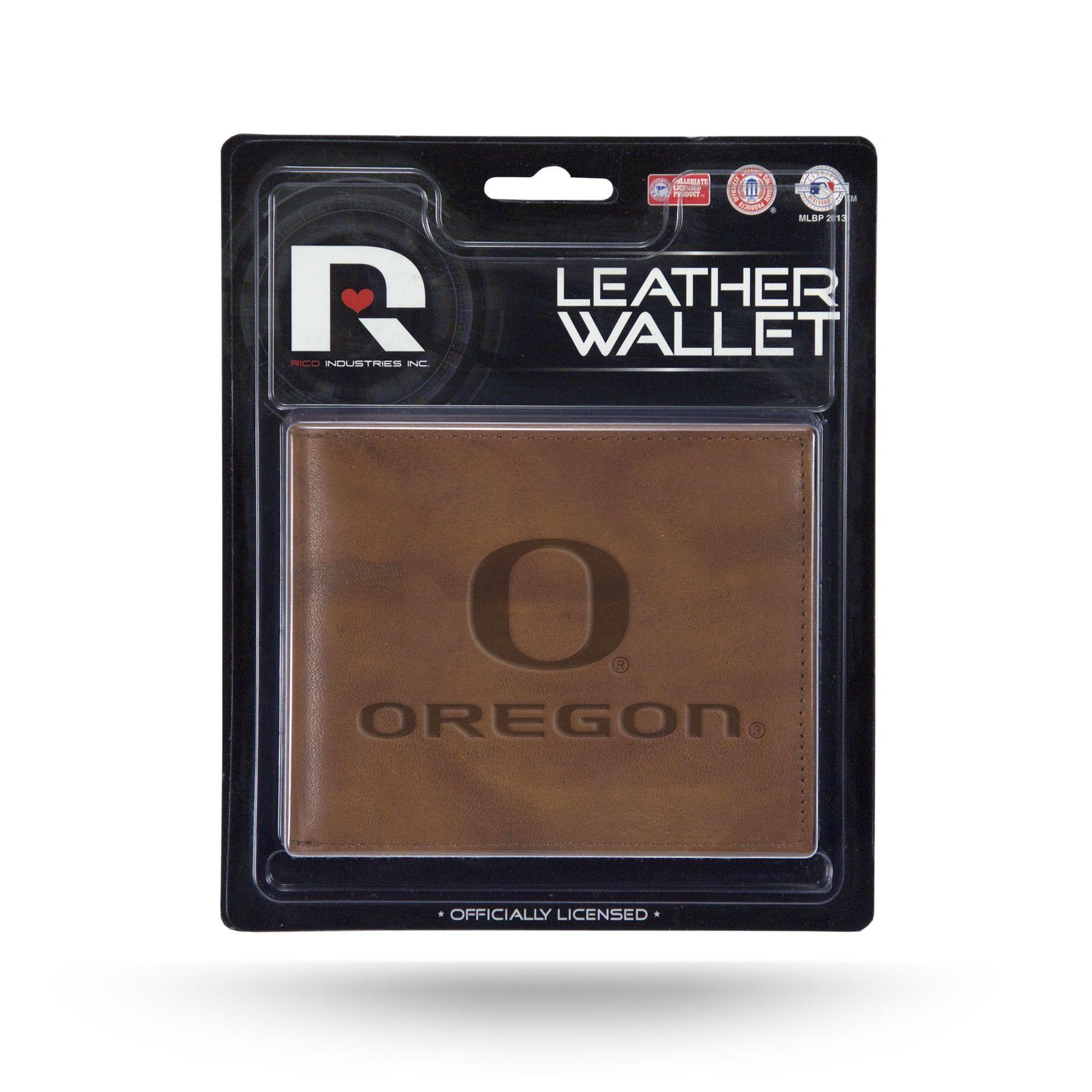 Oregon Ducks Leather Embossed Billfold