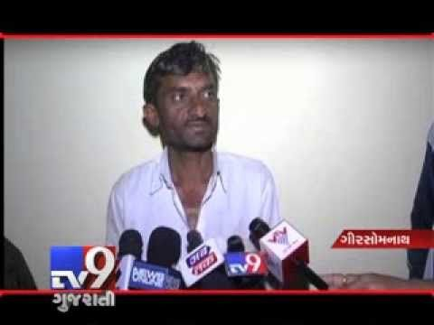 In Gir Somnath , Forest department has arrested a farmer who is responsible for the wild cat death by electrocution. For more videos go to  http://www.youtube.com/gujarattv9  Like us on Facebook at https://www.facebook.com/gujarattv9 Follow us on Twitter at https://twitter.com/Tv9Gujarat