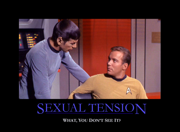 Sexual Tension on Star Trek