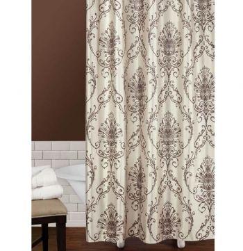 Capello Fabric Shower Curtain by Saturday Knight