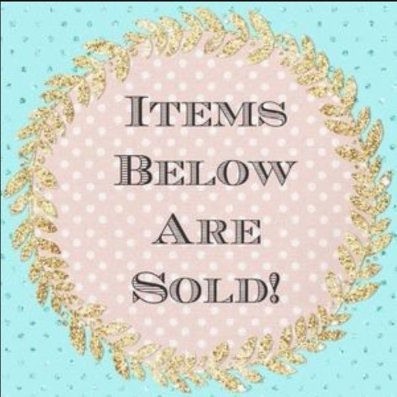 ALL ITEMS BELOW THIS POST ARE SOLD Sold items below Accessories