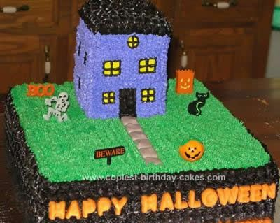 homemade halloween cake the base of this halloween cake is a 2 layer 12 inch