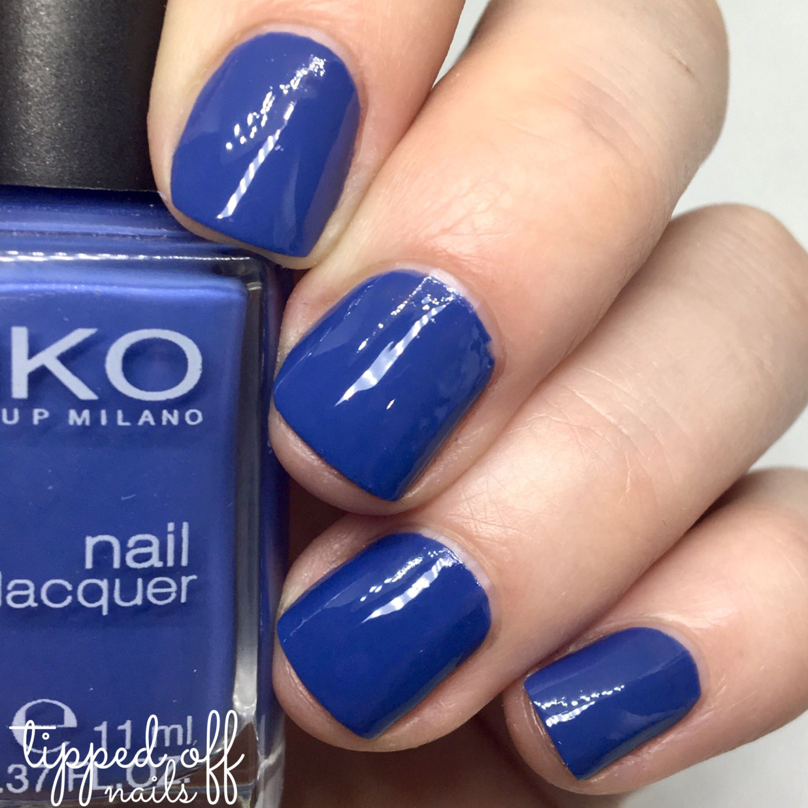Kiko Milano Nail Lacquer 518 – Light Navy Blue | SMALTI KIKO ...