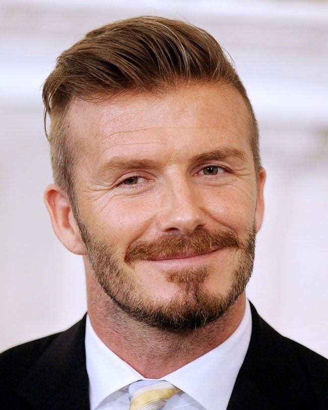 David beckham moustache