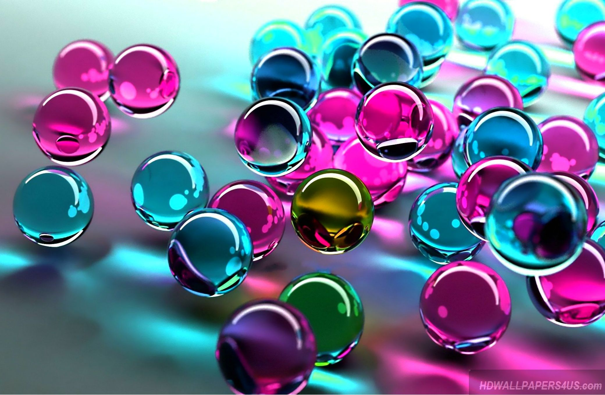 Bubble Wallpaper Hd Pink 3d Colorful 4k Abstract Wallpaper Hd Hd Wallpapers 4 Us
