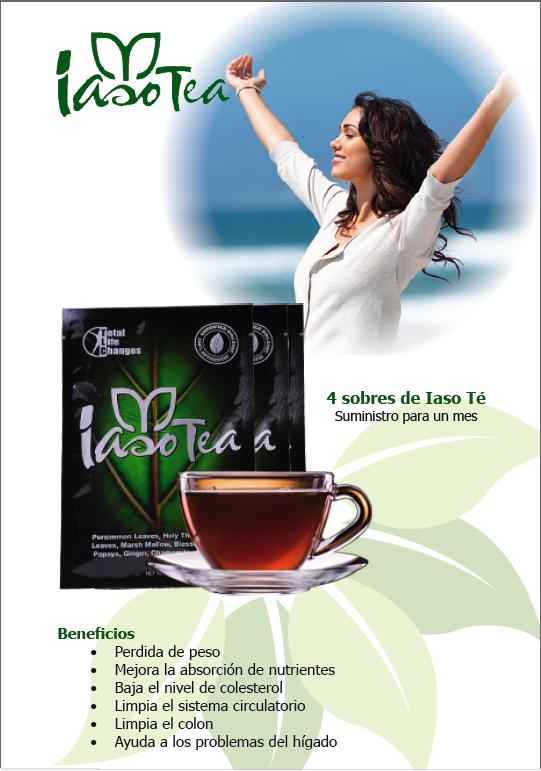 no hay pérdida de peso con el té iaso