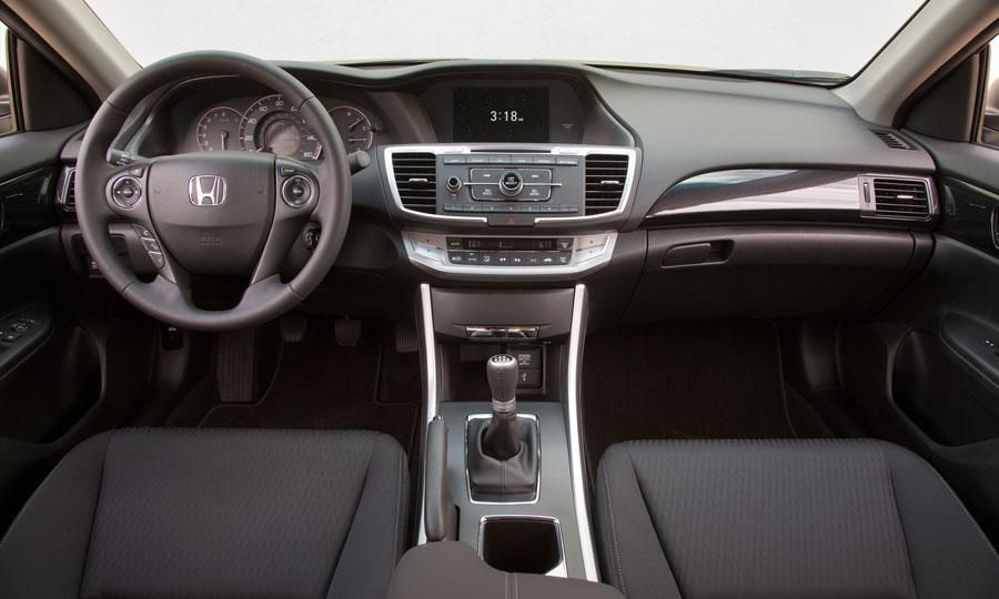 Interior noise is less noticeable on the 2013 Honda Accord
