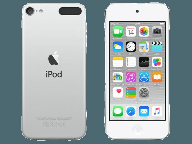 Apple Ipod Touch 32gb Silver 6g Mp3 Mp4 Player Online Bestellen Bei Mediamarkt Ipod Touch Ipod Audio