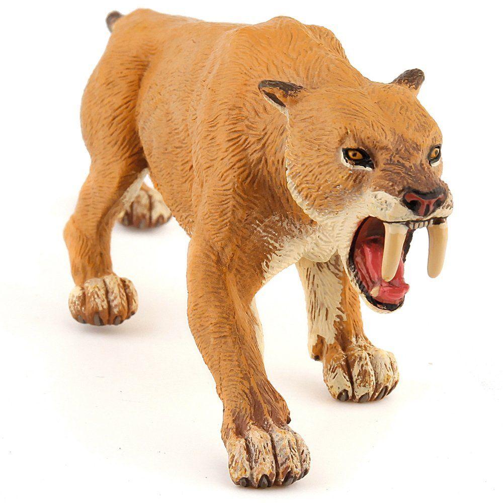 Papo 55022 - Figura de tigre de dientes de sable: Amazon.es ...