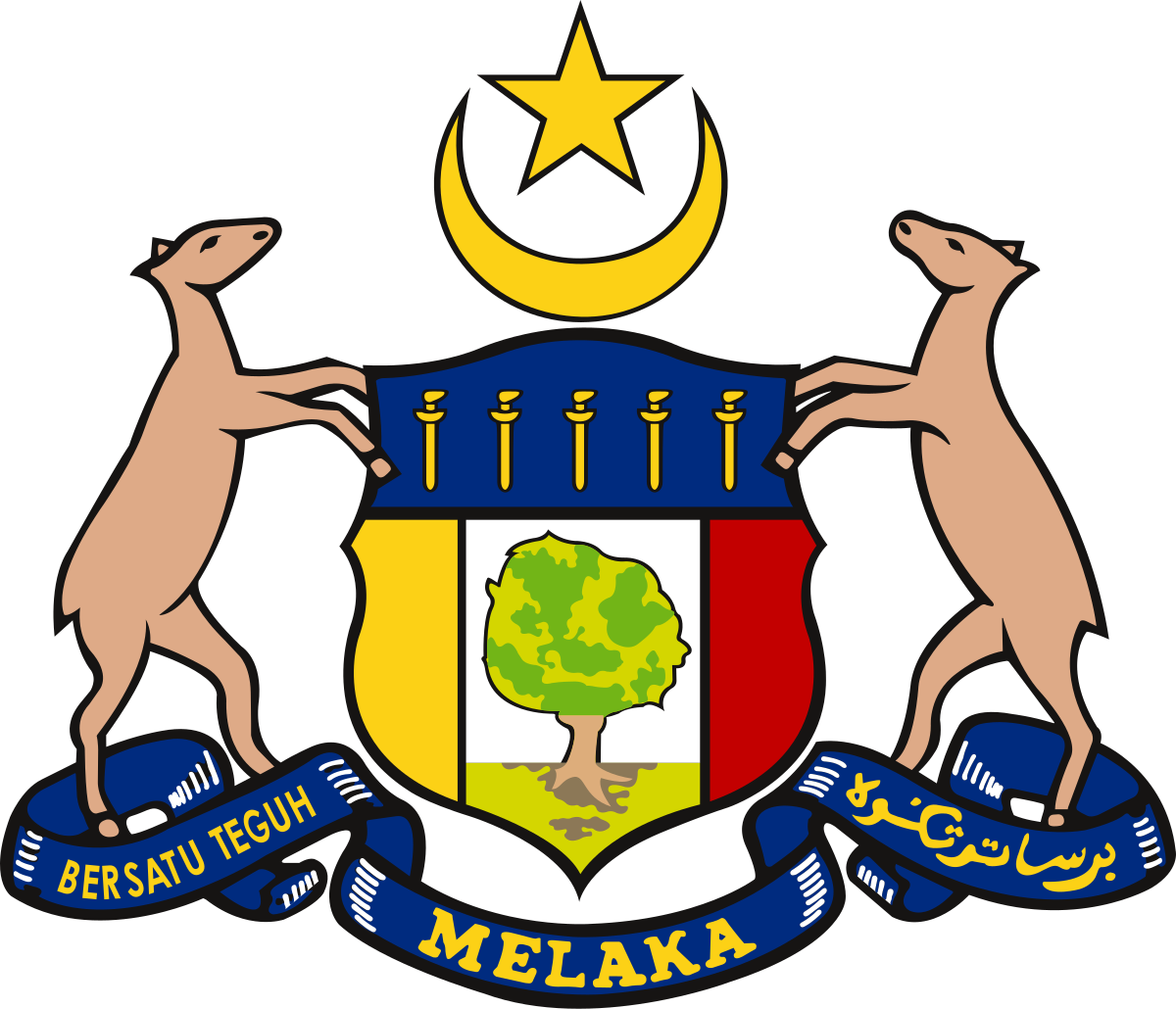 Malacca State Coat Of Arms Coat Of Arms Malacca Arms