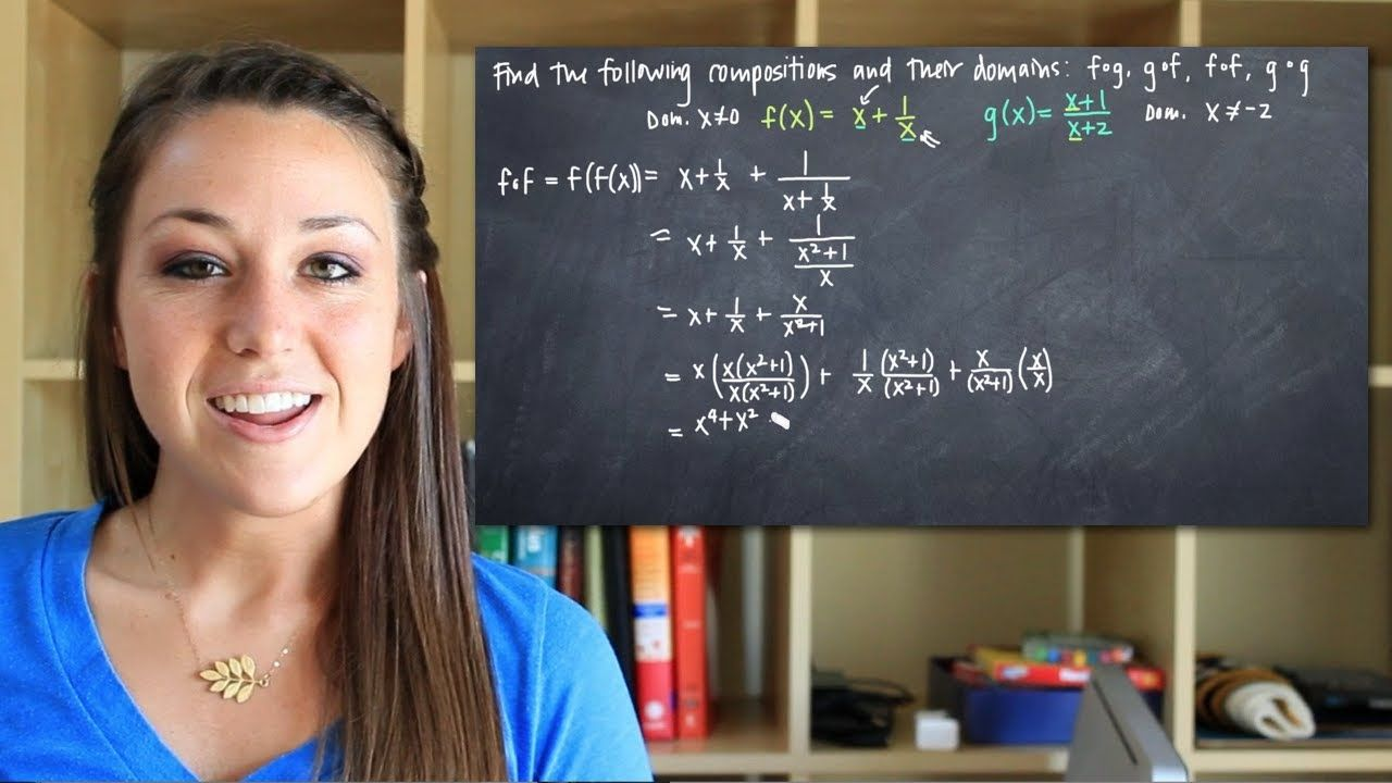 Domain And Range Of Composite Functions Khan Academy ...