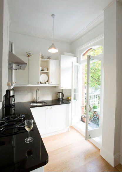 Small Kitchen In A London Flat