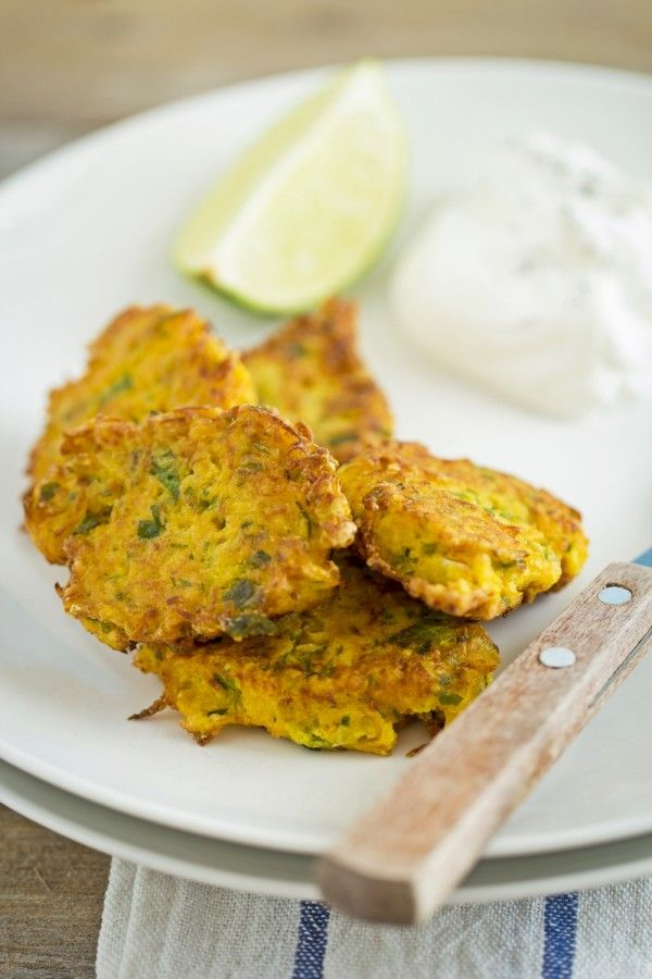 A quick and easy, vegetarian, gluten-free recipe: carrot fritters!
