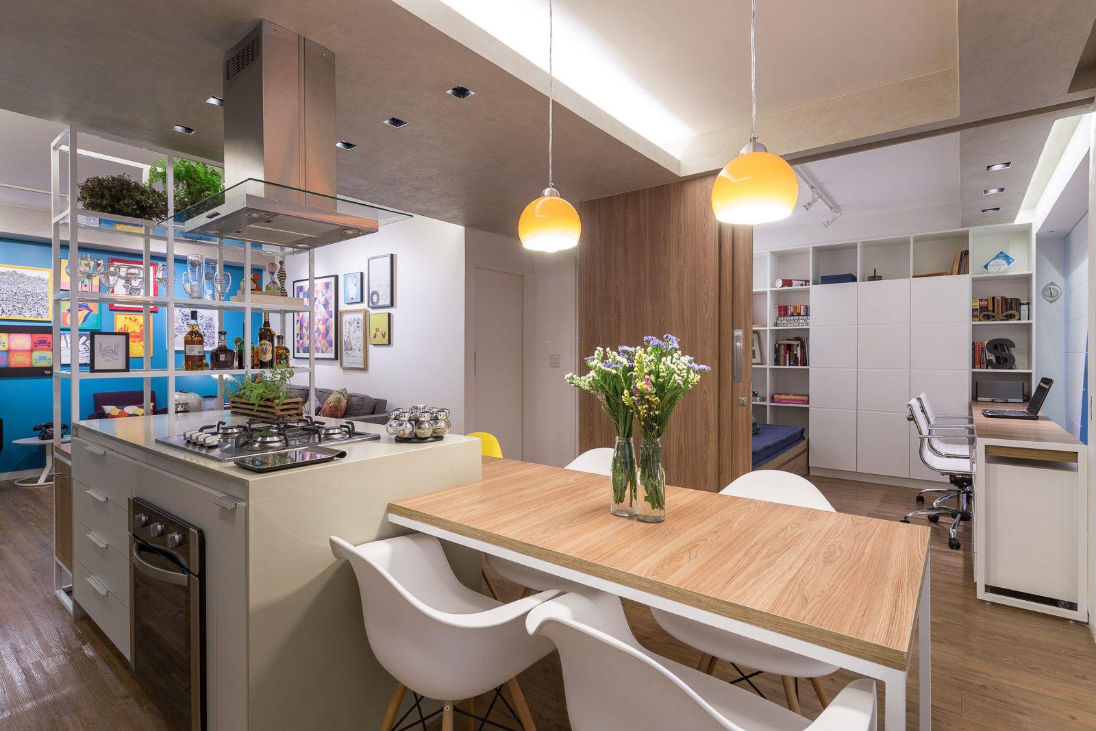 Galeria apartamento trama semerene arquitetura interior 16