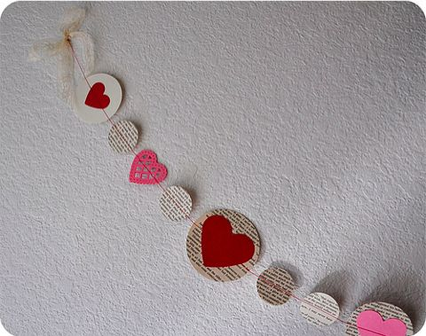 Cute Valentine's/anytime garland!