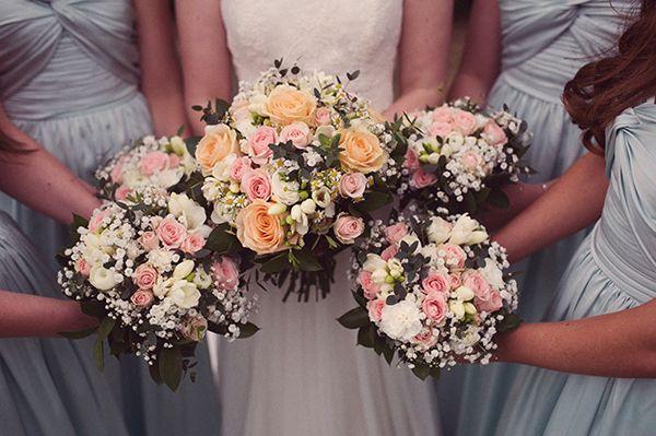 Wedding Bridal Bridesmaid Bouquets http://www.rebeccadouglas.co.uk/blog/