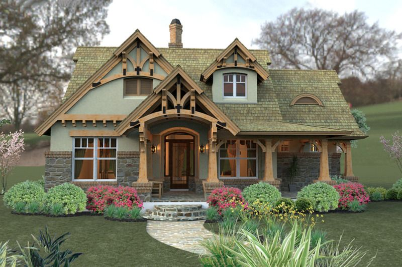 Cozy Fairytale Cottage Hides Date Layout House Plans Dream Home Source Style
