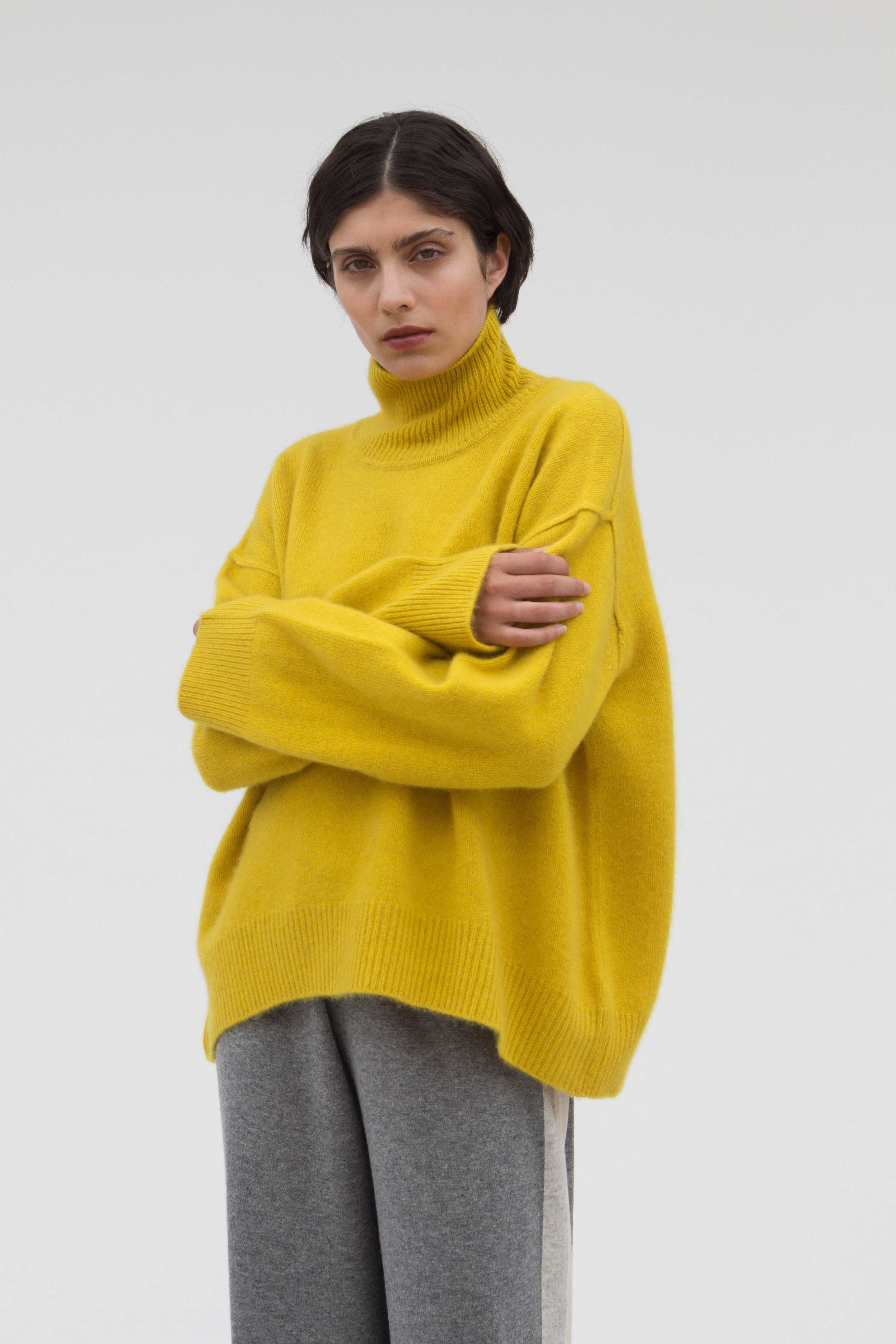 9a4add2ad80 Oversized Jumper — MANDKHAI