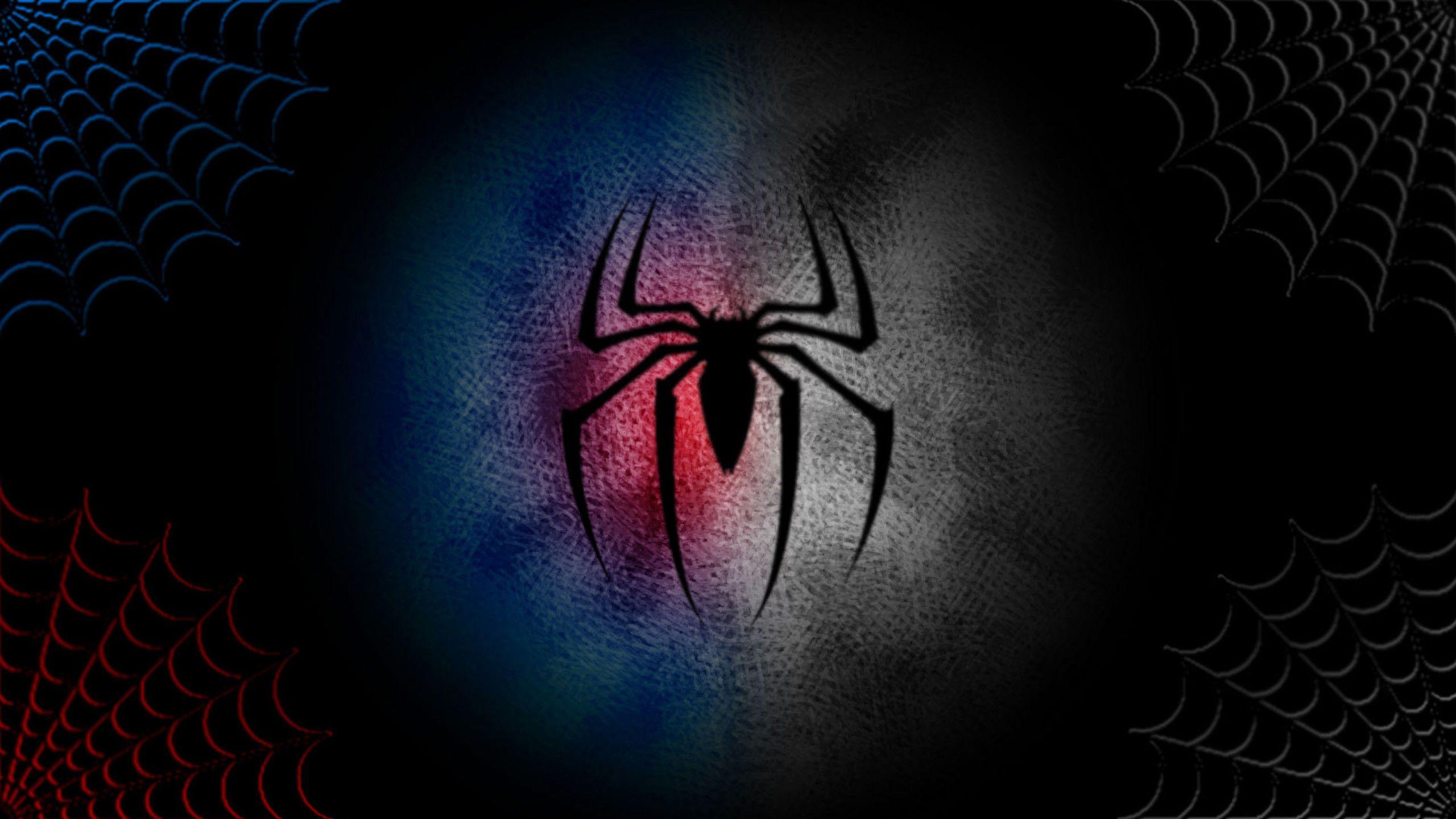 2560x1440 Spiderman Logo Wallpaper Hd Desktop Wallpapers