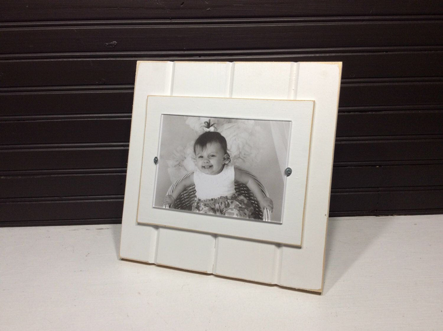 Stand Up Desktop Picture Frame Holds 5x7 By Kdcobbleshop On Etsy Https Www Etsy Com Listing 482563358 Stand Up Desktop Picture Frames Frame Desktop Pictures