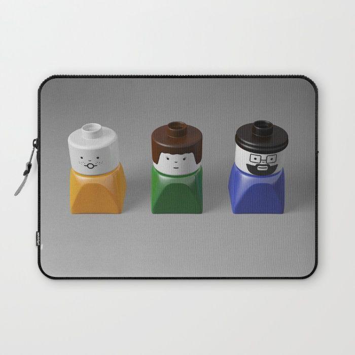 Duplo Family Laptop Sleeve #lego #duplo #3d #cgi #cg #c4d #render #rickardarvius #laptopsleeve #cinema4d #society6 #society6store