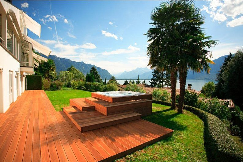 Superbe Outdoor Spa Design Ideas