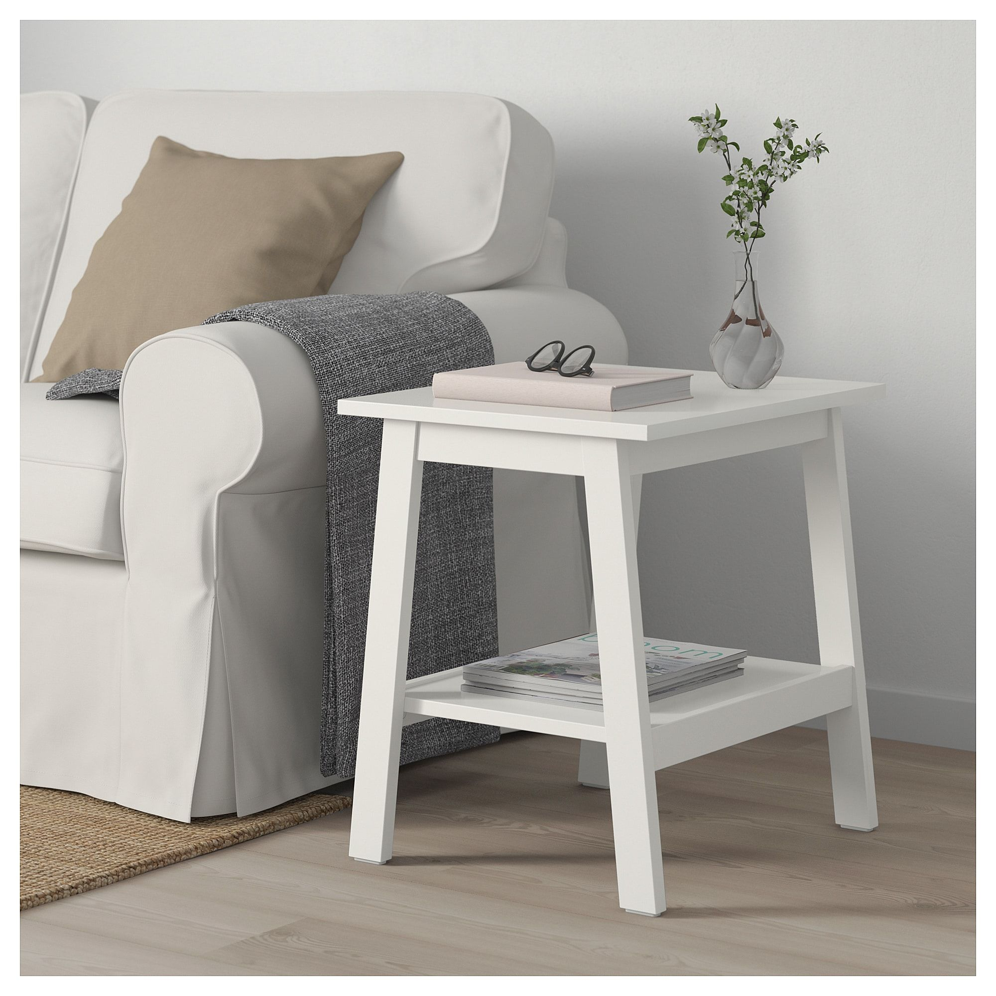 IKEA LUNNARP White Side table in 2019 | Texas home | White side ...